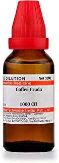Willmar Schwabe Homeopathy Coffea Cruda (30 ML) (Select Potency) by Exportmall (30 CH)