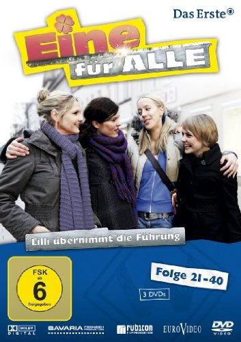 Eine für alle - Lilli übernimmt die Führung, Folge 21-40 [3 DVDs]