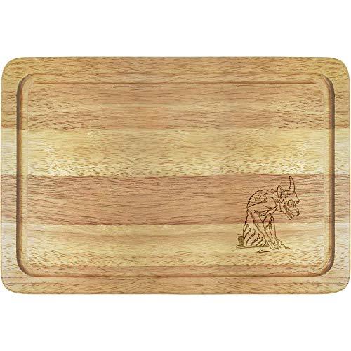 Azeeda 'Notre Dame Gargoyle' Wooden Chopping / Cutting Board (WB00016813)