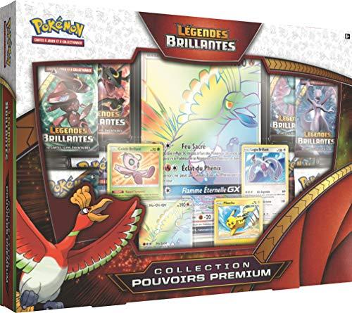 Pokémon POK35HOGX01 Coffret Soleil et Lune 3.5-Légendes Brillantes-Pouvoirs Premium-Ho-Oh GX, Carton, 40,8 x 4,9 x 21,5 cm