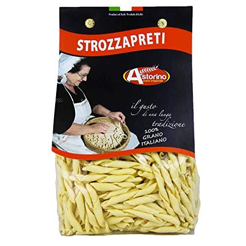 Strozzapreti: Handgemachte Nudeln aus Kalabrien (Hartweizen) Astorino 6 Packungen Nudeln 500gr. In Kalabrien mit italienischen Weizen hergestellt.