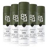 8X4 Men Deo Spray N°8 Wild Oak (5 x 150 ml), Herren...