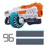 X-Shot Excel Turbo Advance 40 Capacity Barrel Foam Blaster Darts, 36349, 96 fléchettes – Boîte Marron, Taille Unique