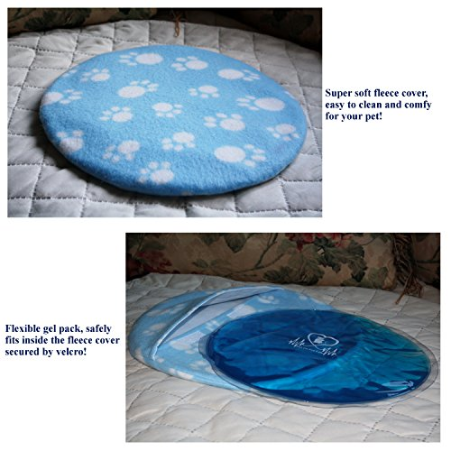 Soft Cooling and Microwave Heating Gel Pad Safe for Cats, Dogs and All Pets