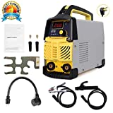 Welder200A ARC Welder Machine (110V&220V IGBT Digital Display LCD Welder with Electrode Holder,Work Clamp, Input Power Adapter
