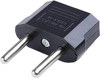 Multi-Standard Adapter Plug Rond Plat Stekker Multi-Country Stekker Wit Klein Eu