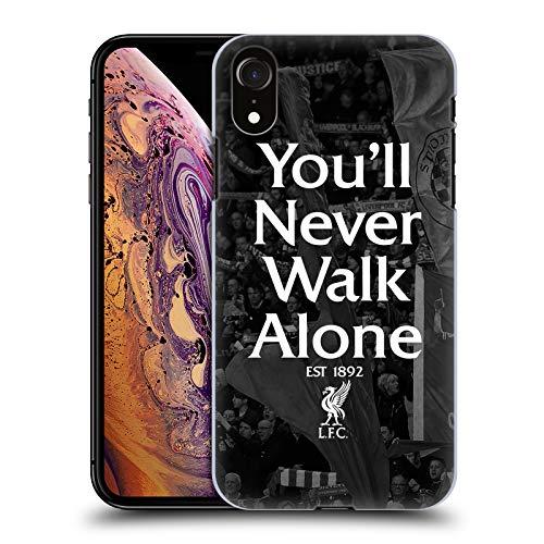 Head Case Designs Offizielle Liverpool Football Club Kop 1 Du Wirst Nie Alleine Laufen Harte Rueckseiten Handyhülle Hülle Huelle kompatibel mit Apple iPhone XR