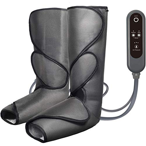 Buy Discount Foot And Calf Massage With Handheld Controller, Foot Massager Leg Wraps, Massage Boots ...