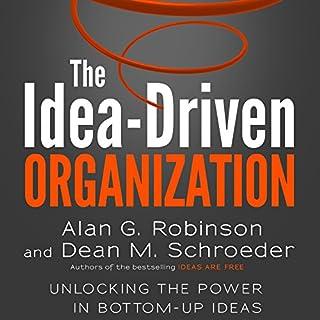 The Idea-Driven Organization audiobook cover art