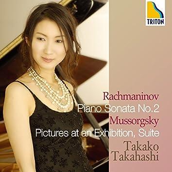 Rachmaninov : Piano Sonata No.2 & Mussorgsky : Pictures at an Exhibition, Suite
