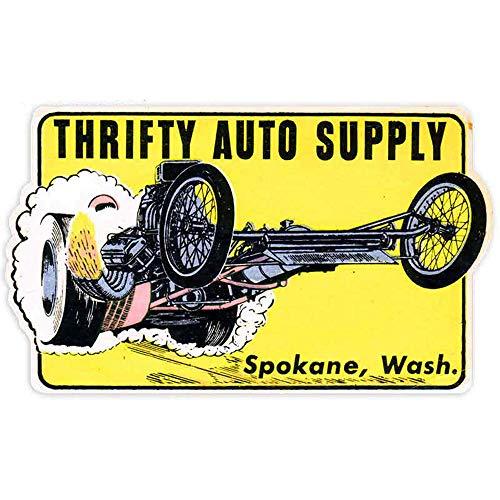 13 cm x 7,8 cm voor zuinige autovoeding, spokane, waa, motorfiets, auto, bumper, raamsticker, autoaccessoires
