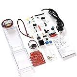 JISHIYU-S Nueva Fuente de alimentación DC Ajustable LM317 DIY Kit Electronic Set 220V / 110V a DC1.25-12V Capacitación de Soldadura (Color : EU)