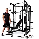 Marcy Deluxe Smith Machine Palestra – Nero/Rosso...