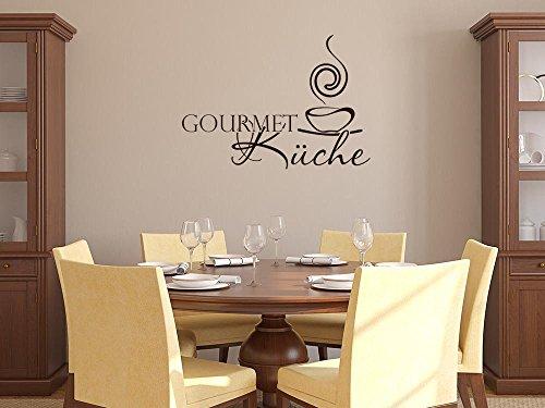 GRAZDesign Muurtattoo Keuken Gourmet Keuken, Keukendecoratie Decoratiefolie Soep 80x57cm 063, lindegroen