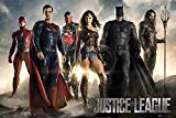 Grupo Erik Editores Poster Dc Comics Justice League Movie All Characters