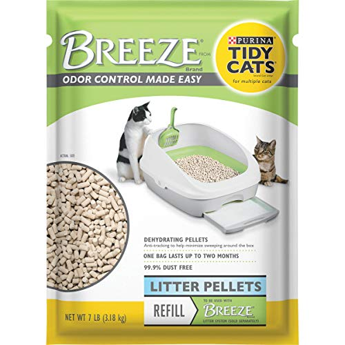 Purina Tidy Cats Litter Pellets, Breeze Refill Litter Pellets - 28 lb. Box