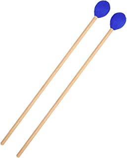 $20 » Alician 1 Pair MD95 Marimba Stick Xylophone Mallet Wooden Handle Percussion Instrument Accessories Electronic Accessories