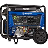 Westinghouse Outdoor Power Equipment WGen9500 Heavy Duty Portable Generator 9500 Rated 12500 Peak Watts, Gas Powered, Electric...