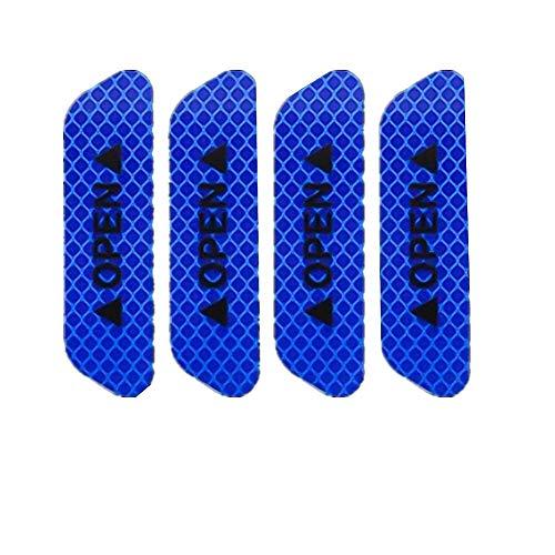 Xinllm Pegatinas Coche Graciosas Pegatinas para Coche Tuning Etiqueta engomada del Coche Coche Espejo Etiqueta engomada Blue