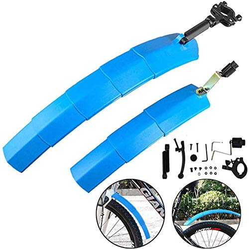 Sq When MTB Mudguard Mudguard Set, and Durability Retractable Mountain Front and Rear Fender Bicycle Accessories Splash Guard,1