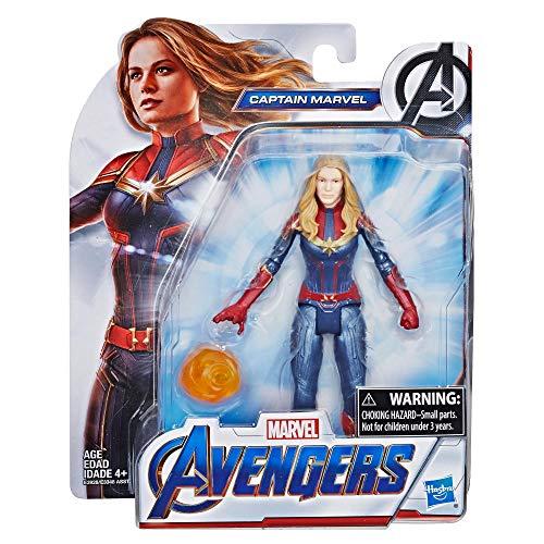 Marvel Avengers: Endgame - Captain Marvel (Action Figure, 15 cm)