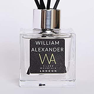 Sponsored Ad – William Alexander, 100ml Reed Diffuser, Silver Mountain Fragrance,Long-Lasting Scent, Handmade in the UK, E...