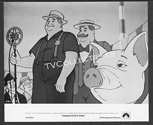8x10 Photo~ CHARLOTTE'S WEB ~1973 ~Wilbur The Pig at County Fair ~Cartoon