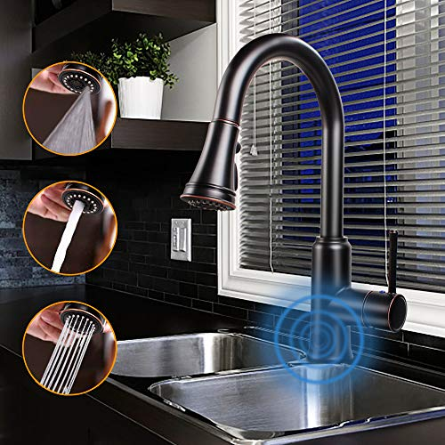 kitchen faucets touchless - 8