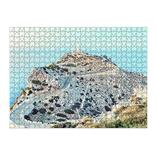 artboxONE Ravensburger-Puzzle L (500 Teile) Natur Cap Formentor, Mallorca - Puzzle Mallorca Cap Formentor Mittelmeer