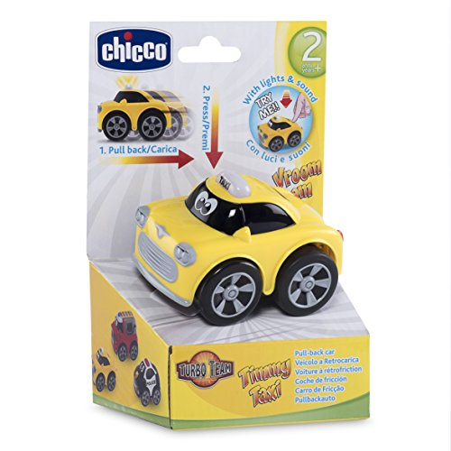 Chicco - Turbo Team Workers Macchina, Taxi, 7904