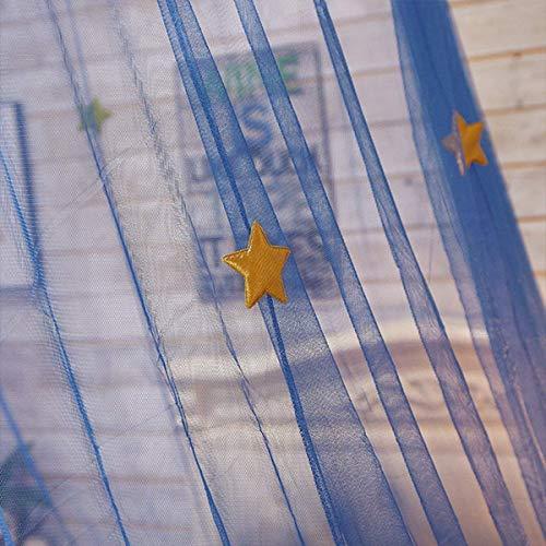 Jeteven Moustiquaire Dôme Polyester Ciel de Lit Princesse Moustiquaire Bébé...