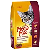 Meow Mix Hairball Control Dry Cat Food, 3.15 Pound Bag (Pack of 4)