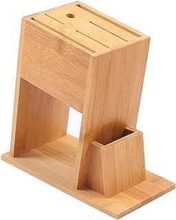 Anchor Porte-Ustensile Bois Cuisine Bambou Couteaux Bloc Support de Rangement for Les Outils de Cuisine Organisateur