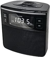 Sylvania SCR1986BT Bluetooth Clock Radio with USB Charging and Dual Alarm