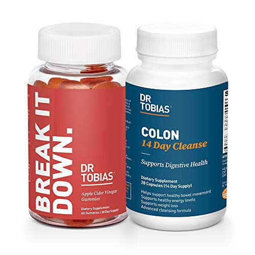 Dr. Tobias Digestive Starter Pack – Colon 14 Day Cleanse and Apple Cider Vinegar Gummies