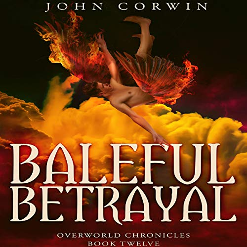 Baleful Betrayal audiobook cover art