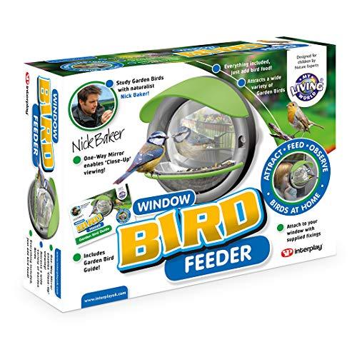 My Living World LW105 Window Bird Feeder, Multicol