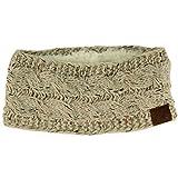 Winter CC Confetti Warm Fuzzy Fleece Lined Thick Knit Headband...