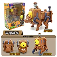 NEW Plants Vs Zombies Deformation Toys Robot Complete Mecha Giant Zombie Boy ToyActiongame