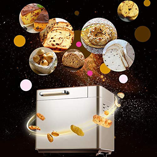 Why Choose Bread Maker Machine with 25 Programmes Fast Loaf Bakingkitchen Cooking Bread Maker Multifunctional Intelligent Bread Maker with Timer Delay Keep Warm Setting Noise Low