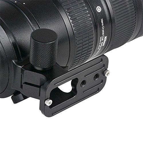 MASUNN Veledge Camera Lens Quick Release Plate Base Voor Nikon 70-200Mm F2.8 Vr Vrii Lens 83Xl