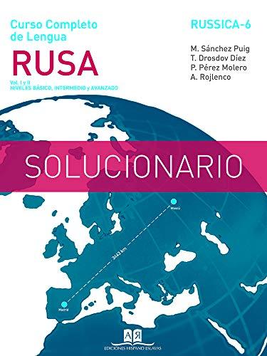 Solucionario de ejercicios del Curso Completo de Lengua Rusa Nivel Básico y Nivel Intermedio-Avanzado