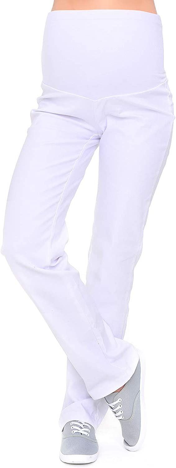 Mija - Maternity Trousers Jeans At the price Cut Classic Denim Over safety Straight