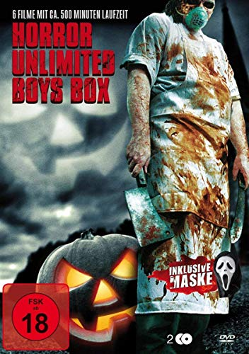 Horror Special Scream Box ( Halloween Edition ) [2 DVDs]