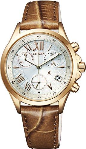 [シチズン]CITIZEN 腕時計 xC クロスシー  エコ・ドライブ クロノグラフ FB1402-05A レディース