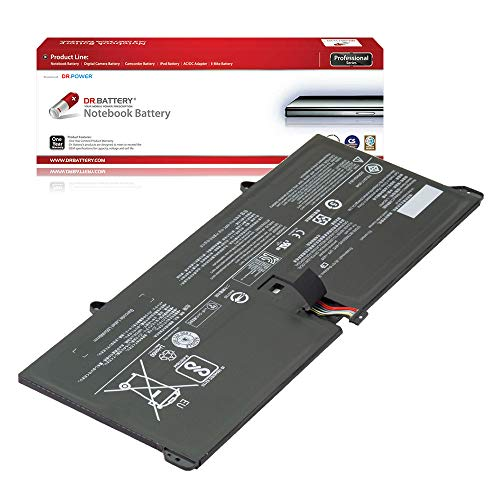 DR. BATTERY Laptop Battery for Lenovo Yoga 920-13IKB Glass L16C4P61 L16M4P60 5B10N01565 [7.68V/8860mAh/68Wh]