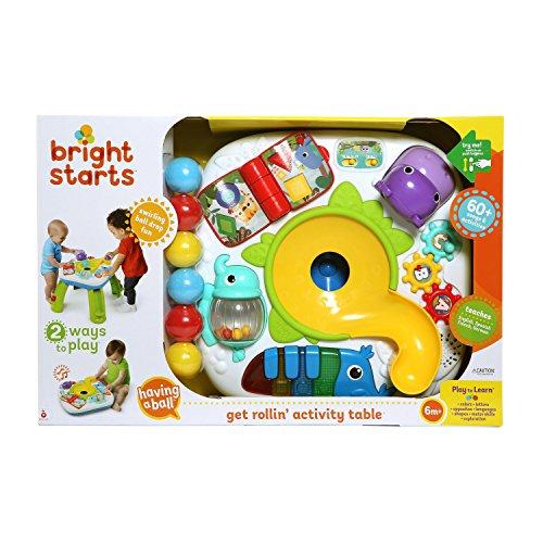 Bright Starts, Table d'Activité Multilingue (anglais, espagnol, français,...