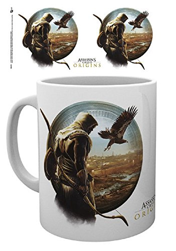 Assassin's Creed Origins - Adler Senu - Tasse aus Keramik | Füllmenge ca. 320 ml