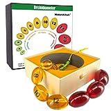 MedarchitectPraderOrchidometer,PraderBalls,EndocrineBeadsForMeasuringTestisInPurbertyStage,BestGiftForEndocrinologistAndPediatrician.