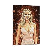 HAOCHIDE Celebrity Poster Jennifer Lawrence Poster